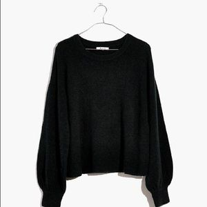 NWT MADEWELL BALLOON SLEEVE SWEATER